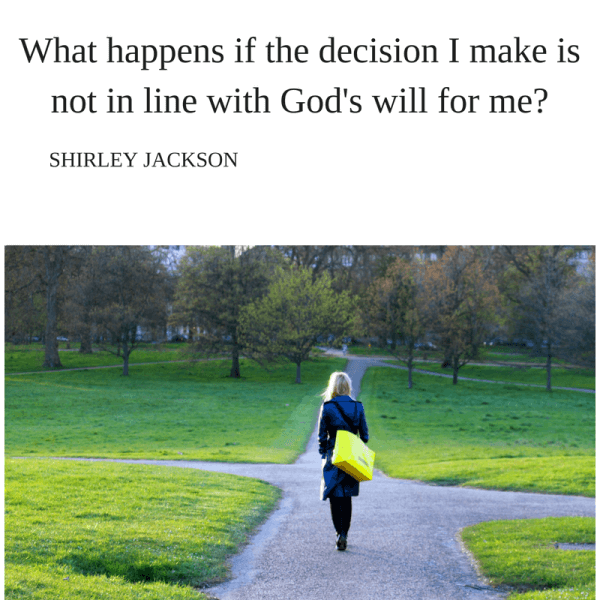 God-Driven Decisions Take 3