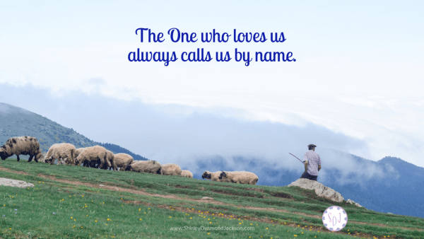 Our names are the sweetest and most important words to us. They connect us to our identity and highlight our individuality. Jesus has special names for us.