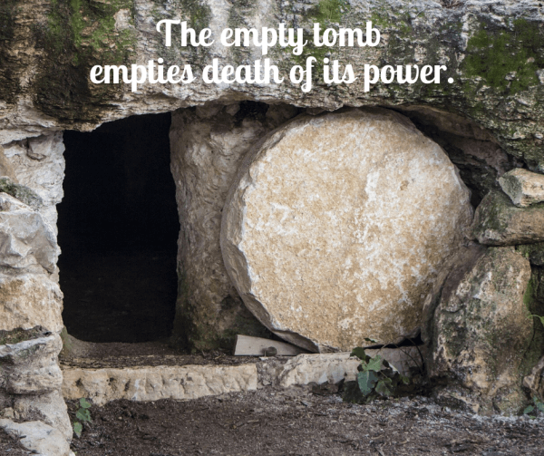 The empty tomb empties death of its power, so celebrating Easter will offer a beacon of hope during the Coronavirus Crisis.