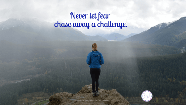 Learning to face our fears and overcome challenges bring great rewards. Jesus promises us a rewarding life, not an easy one.