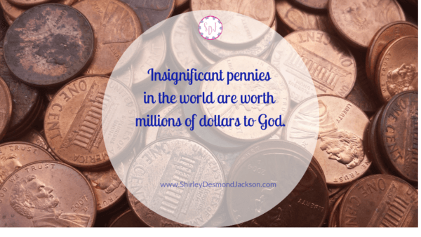 Often we feel devalued by the world. But God has a different economy. He defines our value through the sacrifice of His son.