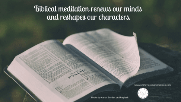 Biblical meditation is a lost art among Christians. Yet the Scriptures support meditating on God's word and is the key to transformation.