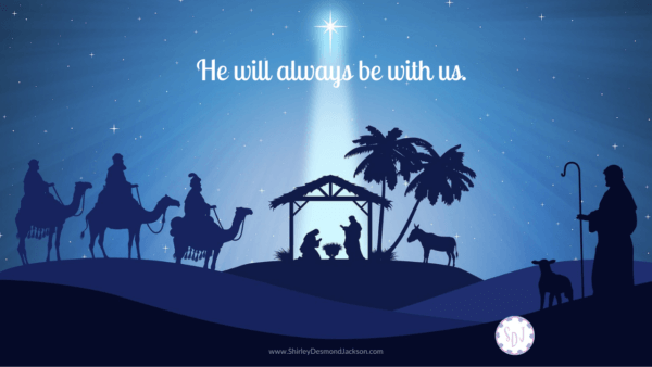 One of the most beautiful promises of Christmas, Immanuel, God With Us, is often overlooked. Yet is powerfully speaks to today's circumstances.