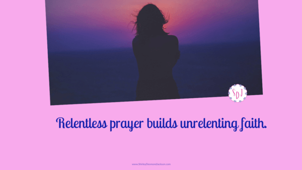 Praying without losing heart doesn't mean we will get what we ask for. Praying with perseverance transforms our heart so it aligns with God's will.