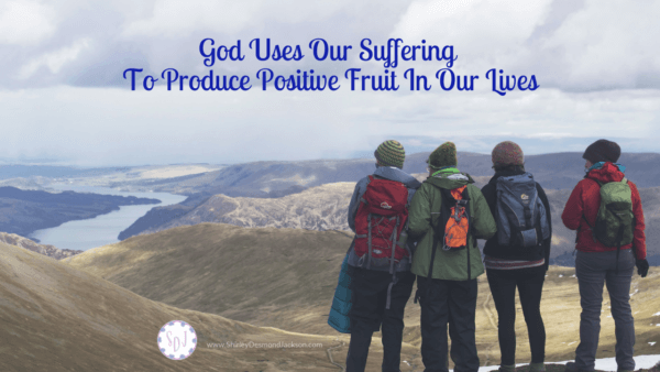 Suffering is not fun or easy. But with God we can learn to rejoice in our suffering, because of the positive fruit it can produce.